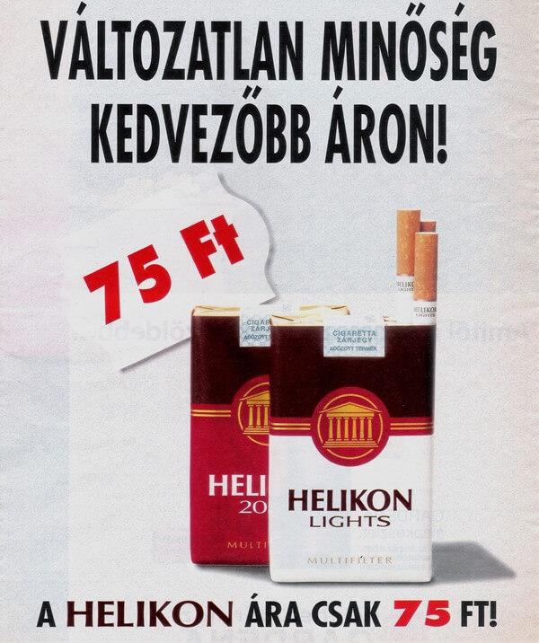 Helikon cigaretta 02.