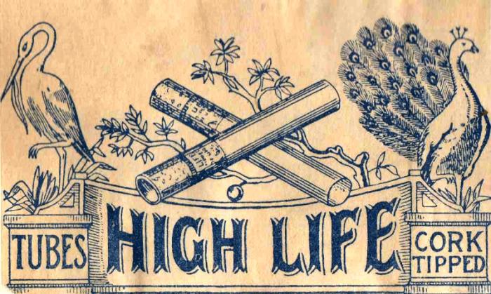 High Life cigarettahüvely