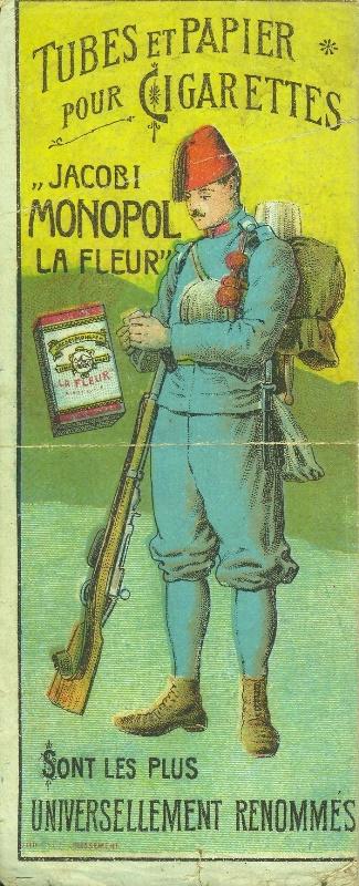 Jacobi La Fleur cigarettapapír és hüvely