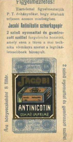 Jacobi Antinicotin cigarettahüvely 3.