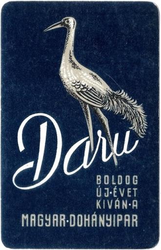 Daru - kék 1965.