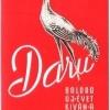 Daru - piros 1965.