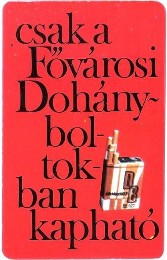 Dohánybolt 1973.