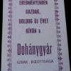 Egri Dohánygyár 1976.