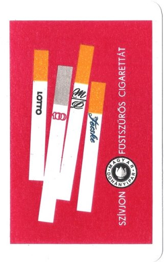 Füstszűrős cigaretta 1968.