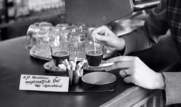 Kávé és cigaretta, 1969.