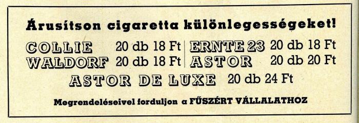 Külföldi cigaretták
