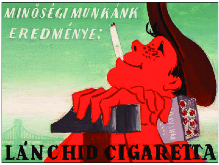 Lánchíd cigaretta 4.