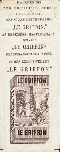 Le Griffon cigarettahüvely