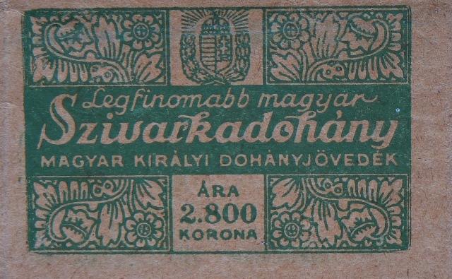 Legfinomabb Magyar cigarettadohány 3.