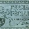 Modiano számolócédula 12.