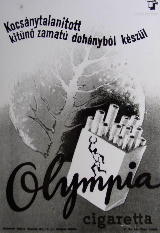 Olympia cigaretta 2.