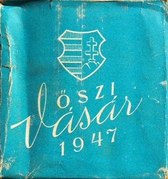 Őszi Vásár 1947.
