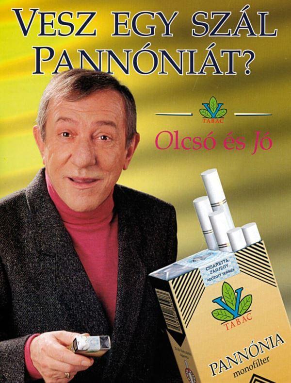 Pannónia cigaretta 1.