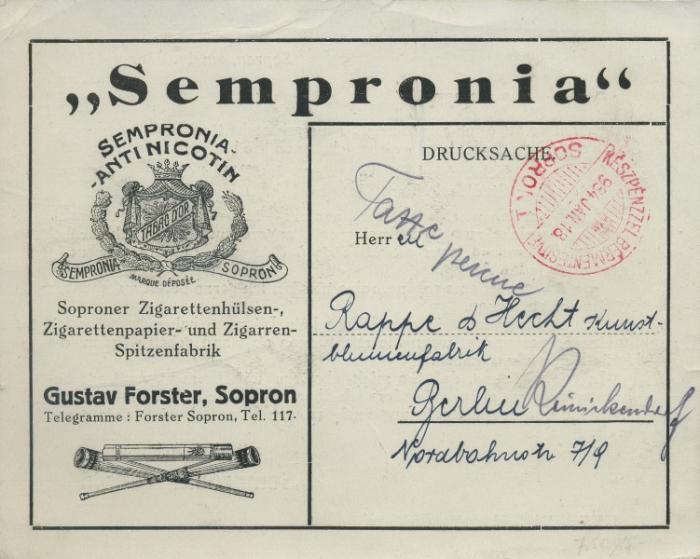 Sempronia Antinicotin cigarettahüvely 3.