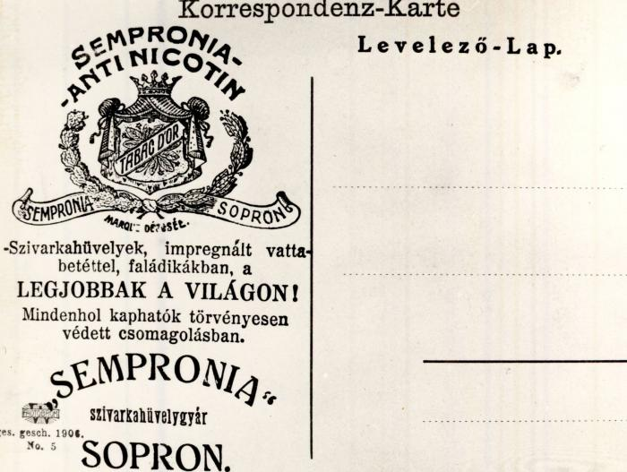 Sempronia Antinicotin cigarettahüvely 6.