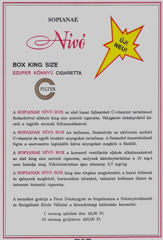 Sopianae cigaretta 01.