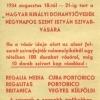 Szivarvásár 1934.