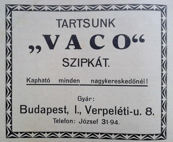 Vaco cigarettaszipka